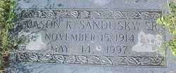Mason K Sandusky, Sr