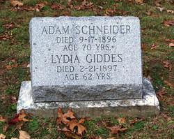Lydia <i>Giddes</i> Schneider