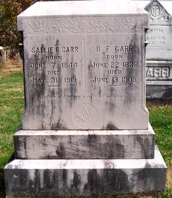 B.F. Carr