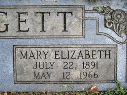 Mary Elizabeth Mazie <i>Davis</i> Hargett