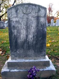 Flora Ann <i>Davis</i> Davis