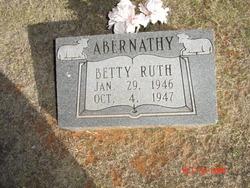 Betty Ruth Abernathy