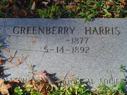 Greenberry Harris