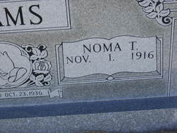 Noma Gretchen <i>Thomas</i> Adams
