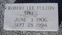 Robert Lee Fulton Sikes