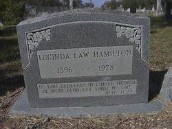 Lucinda <i>Law</i> Hamilton