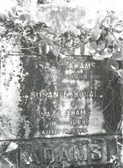Susan Elizabeth <i>DuVal</i> Adams