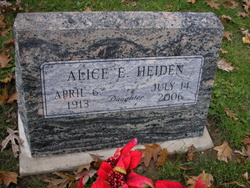 Alice Emma Florence Heiden