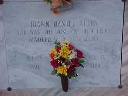 Joann <i>Daniel</i> Allen