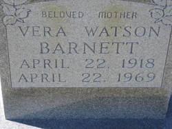 Vera <i>Watson</i> Barnett