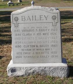 Clara Hazelton <i>Avery</i> Bailey