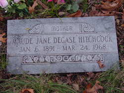 Maudie Jane <i>DeGase</i> Hitchcock
