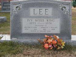 Ivy Moss <i>King</i> Lee