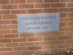Greenwood Primitive Baptist Cemetery