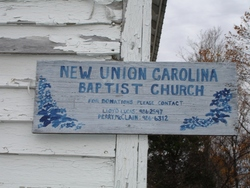 New Union Carolina Church and Cemetery