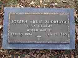 Joseph Arlie Aldridge