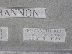 Elizabeth <i>Key</i> Brannon