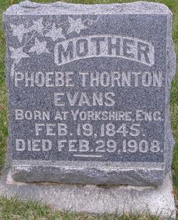 Phoebe <i>Thornton</i> Evans