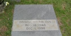 Danny Hiram Nix
