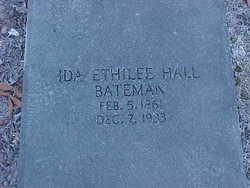 Ida Ethilee <i>Hall</i> Bateman