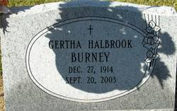 Gertha Halbrook Burney