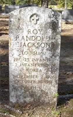 PFC Roy Randolph Jackson