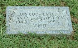 Lois <i>Cook</i> Bailey