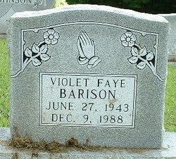 Violet Faye Faye Barison