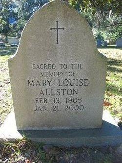 Mary Louise Allston