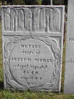 Betsey <i>Frisbie</i> Morse