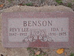 Ida Isobel <i>Reno</i> Benson