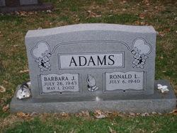 Barbara J. <i>Parton</i> Adams