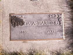 Rhoda Agnes <i>Hager</i> Harding