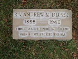 Rev Andrew M. Dupre