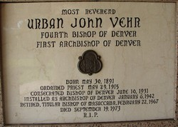 Rev Urban John Vehr