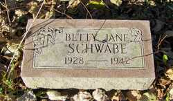 Betty Jane Schwabe