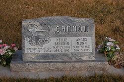 Angus Munn Cannon