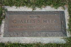 Charles Buddy Myer