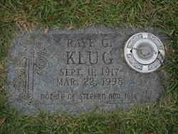 Raye <i>Gilliam</i> Klug