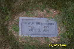 Daisy W Bodenheimer