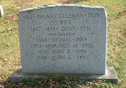 Mary <i>Doon</i> Coleman