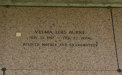 Velma Lois Burke