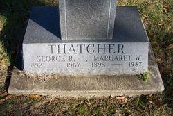 Margaret W. <i>Watt</i> Thatcher