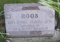 Ethel Aldene <i>Anderson</i> Roos