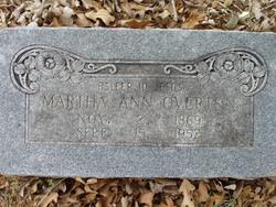 Martha Ann <i>Rainbolt</i> Overton