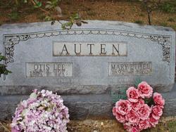 Mary Ethel <i>Overton</i> Auten