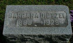 Anna Barbara <i>Leitner</i> Dietzel