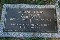 Corp Eugene Gilbert Bud Roe