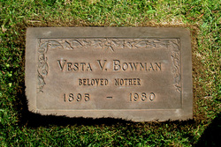 Vesta Virginia <i>Ratliff</i> Bowman