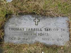 Thomas Farrell Taylor, Sr